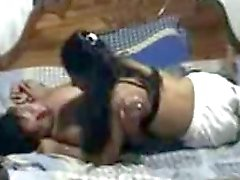 desi indian young wife playing with hubbys cock