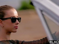 Spoiled rich teen bitch gets her ass gaped by BBC