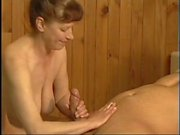Lovely German Mature Fucked inn Sauna