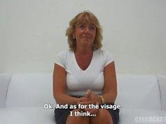 Czech Stepmom Casting - Mature Ilona