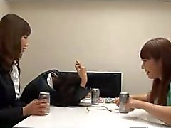 Yummy Asian teens eat each other out