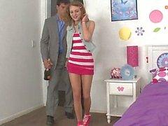 Ramon pleasing sweet teen pussy