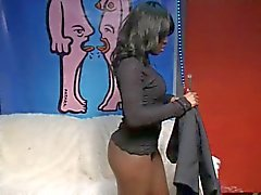 Black teen Conchita fucked and squirting