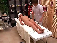 Reluctant woman used by her masseur