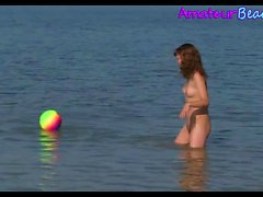 Nude Beach Voyeur Teens Compilation Amateur Video