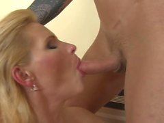 Hot milf and her younger lover 646