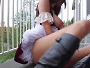 Lustful Outdoorbate