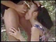 sexy asian girl fucked outdoors public sex