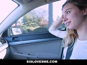 SisLovesMe - Horny Stepsis Fucks For Extra Cash