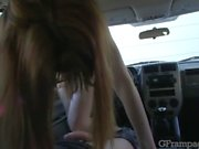 gframpage: ginger-head girl gets banged up her booty