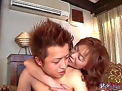 Japanese Mom and NOT her Son Part 1 unsencored-