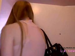 Teen is fucked at casting photoshoot POV