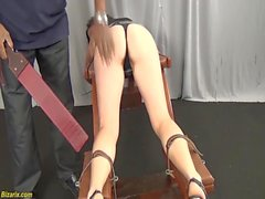 skinny teens first interracial bdsm lesson