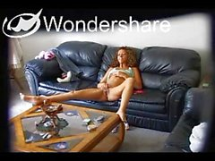 Young Girl Watching Porn and Masturbating