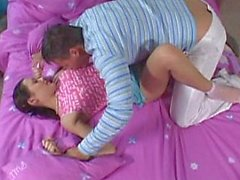 Russian teen Nataly gets her ass drilled hard. Facial.