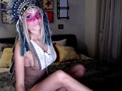 Sophisticated Blonde Loves To Show Off On Cam