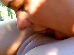 Perfect Lesbian lick pussy