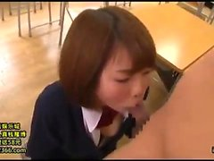 Asian teen Sarika gulps down big cock