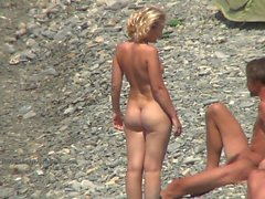 Nude teen girls on the nudist beaches compilation