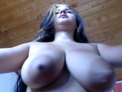 Luxury hot nipples and masturbation
