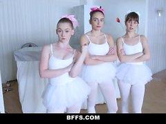 BFFS Fake Teacher Fucks Teen Ballerinas