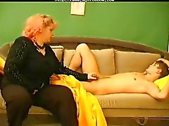 Maure Bbw mom loves teen cock