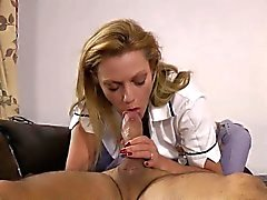 Euro nurse jerk old man