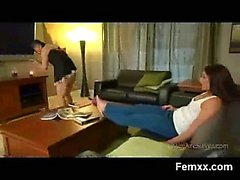 Cruel Teen In Amazing Femme Domination