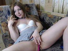 Sweet teen Carmen Cocks horny solo masturbation action