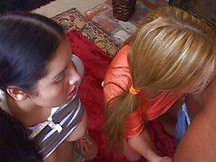 Crazy teens suck cock