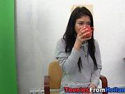 Cute dutch teen poses