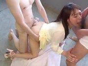 Sana Mizuhara Japanese GangBang part 1