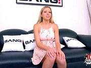 Hot pornstar double penetrated with cumshot