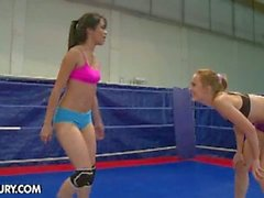 Blue angel and ruth medina lesbian fight club
