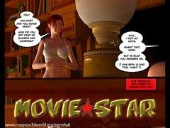 3D Comic: Movie Star