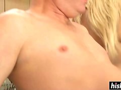 Kylee Reese ikes to get drilled hard