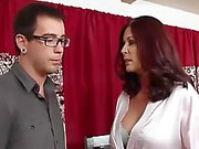 Mature Woman Seduces Young Guy...F70