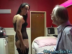 European hooker fingered