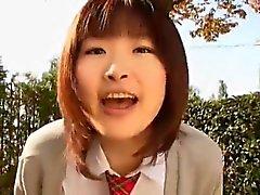 Cute Girl Asaka first time on camera ctoan
