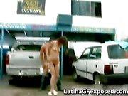 Latin gf night drive backseat sex part6