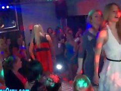 Cfnm teen pussy fingered in a packed club