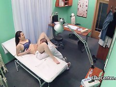 Doctor fucks teen patient after back massage