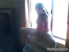 Mom Masturbating By The Window