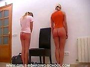 Playing spanking game