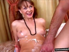 Fucking Daughters Young Body With Thick Cumshot