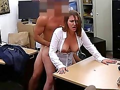 Drunk milf wants cash for ass