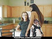 Dyked - Amateur Lesbian Teens Scissor and Fuck