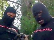 Sexy Black Teen First Gangbang