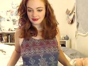 Very Hot Amateur Redhead Teen quickie fuck on Webcam