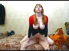 Marina Russian Busty Girl Fucked